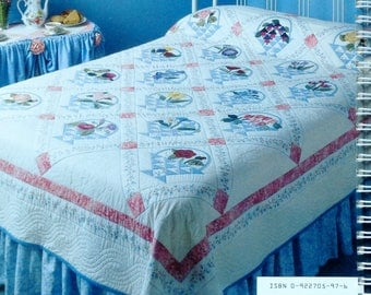 Eleanor Burns | Patricia Knoechel | GRANDMOTHER'S GARDEN QUILT | Quilt In A Day | Quilt Patterns  | Softcover Book | Instructional