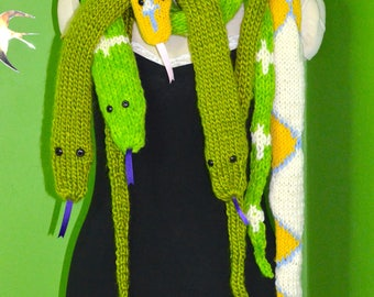 RESERVED FOR MARILYN please do not purchase unless you are her  Marilyn's lavender albino reticulated python snake scarf