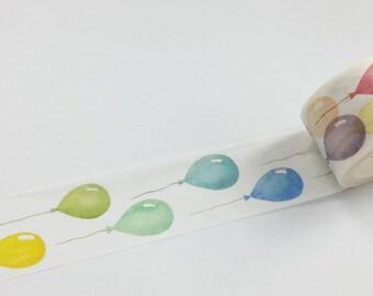 Balloon Washi Tape (30mm X 8M)