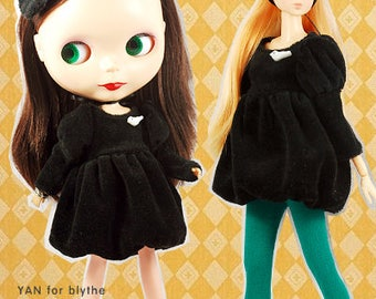 Clearance Sale - YAN - Little Witch Dress Set for Blythe doll