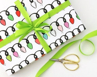 Christmas Wrapping Paper for Kids Holiday Gift Wrap Cute Christmas Gift Wrap Colorful Holiday Wrapping Paper Wrapping Supplies Holiday Paper