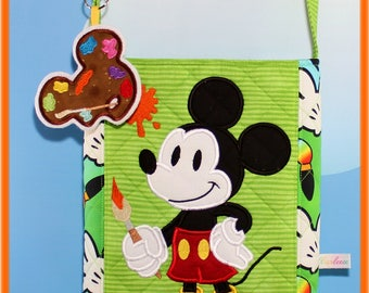 Disney Bag Applique Artist Mickey with palette Limited Edition
