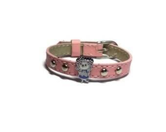 Little Girl's Bracelet - Kids Adjustable Charm Bracelet - Children Slide Charm Leather Buckle Bracelet - Little Girl's Buckle Bracelet