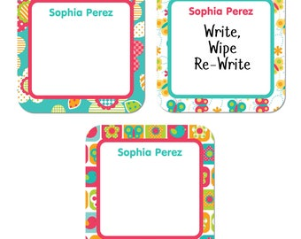 Write-On Labels (6 Sizes), All Things Spring