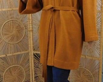 Item# 2012-33 Short Wrap Honey Jacket-Scarf Included
