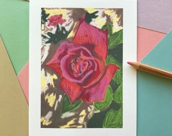 Pink Rose Notecards| Pink Rose Blank Cards| Pink Rose Blank Notecards| Pink Rose Notecards| Pink Floral Notecards| Blank Thank You Cards