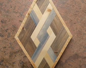 SOLD - Diamond Woodworking Art