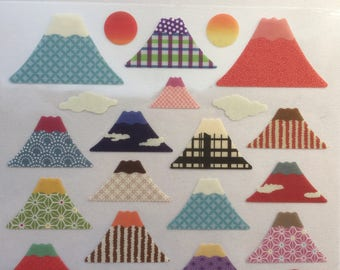 Japanese Stickers - Mt Fuji