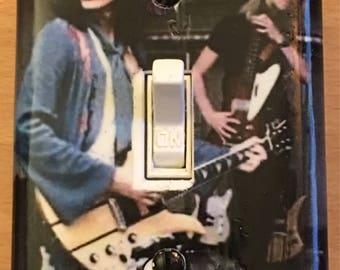 Joe Perry & Tom Hamilton Light Switch Plate