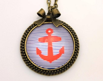 Anchor Necklace, 2525C