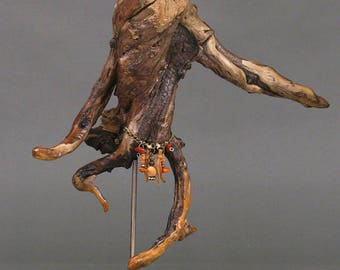 Driftwood Sculpture, Wood Sculpture - Twisted Root