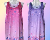 Magical Girl First Aid Tank Tops in Pink and Lavender