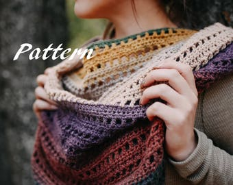 The Avery Triangle Scarf - Crochet Pattern