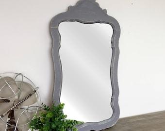 Ornate Mirror - Unique Home Decor - Antique Mirror - Shabby Chic Mirror - Vintage Home Decor - Decorative Mirror - Framed Bathroom Mirror