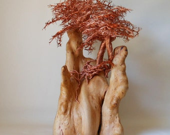 Wire Trees,Wire Tree Sculpture,Metal Sculpture,Tree of Life,Bonsai Trees,US Artist,Palm Tree Sculpture,Copper Trees ,Wire Art,Metal Tree,