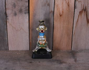 Vintage Made in Japan African Novelty Native Figural Ceramic Ashtray Incense Burner