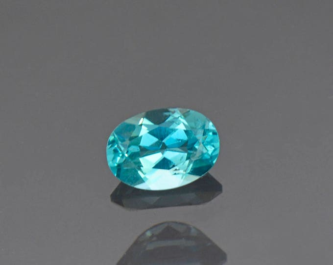 Gorgeous Caribbean Blue Apatite Gemstone from Madagascar 0.78 cts.
