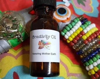 Creativity Oil, Voodoo, Hoodoo, Conjure, Anointing, Ritual, Hoodoo, Pagan,Wiccan