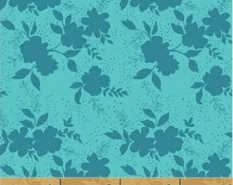Baby Bedding Crib Bedding - Floral, Blue, Teal, Turquoise, Flowers - Baby Blanket, Crib Sheet, Crib Skirt, Changing Pad Cover, Boppy Cover