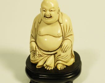 Vintage Resin Desk Top Buddha