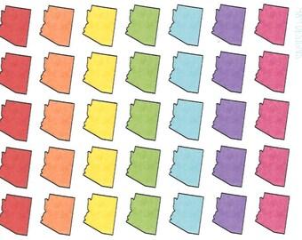 Arizona Stickers || Planner Stickers