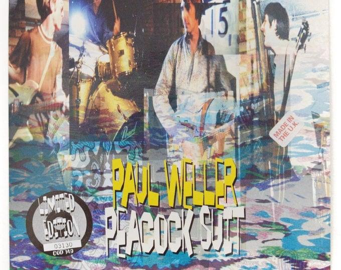 Vintage 90s Paul Weller Peacock Suit Limited Edition UK Import 45 RPM Single Record Vinyl