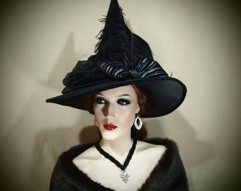 "Witch Hat ""Rebecca"" One of a Kind"