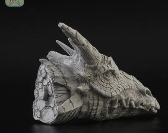 Dragon Head resin kit collection figures