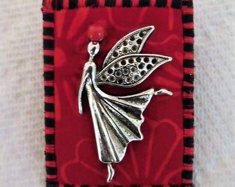 You Are An Angel Fabric Pin