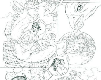 Mirenda 5 Page 12 Original Artwork