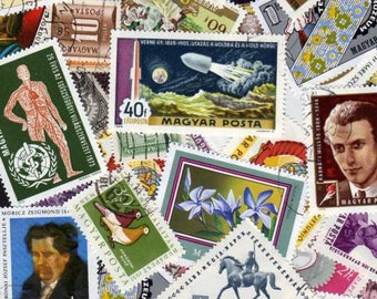 Hungary Stamps,60 Diff, Hungary Postage Stamps, Hungarian Stamps, Hungarian Postage Stamps, Postage Stamps, Magyar Posta, Stamps, Hungary