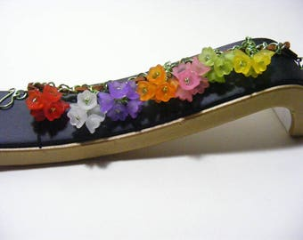 Multi Colour Tulip Bracelet