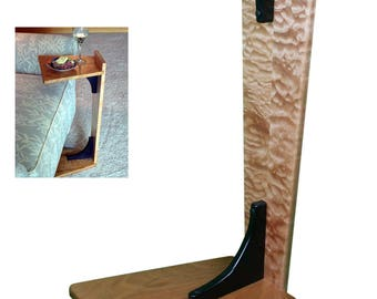 Perching Table - Quilted Maple & Cherry