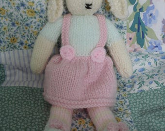 Hand Knitted 'Maisie Bunny'