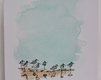 Sandpipers Note Card