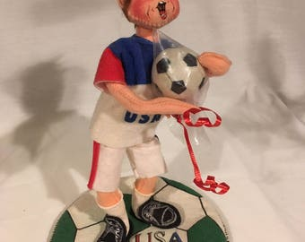 Annalee Doll Soccer Player 1994