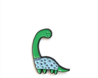 Enamel Pin // Flower Pin //  Dino Pin// Dinosaur Pin  // lapel pin