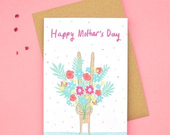 Flowers of Appreciation Mother's Day Card
