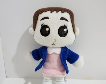 Eleven Plush Inspired by Stranger Things (Unofficial)