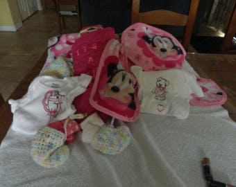 newborn baby gift girl   (the baby mitt)