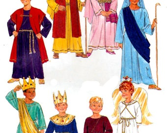 Butterick 6505 Vintage 1990s Sewing Pattern Child's' Jesus Pageant Costume Pattern
