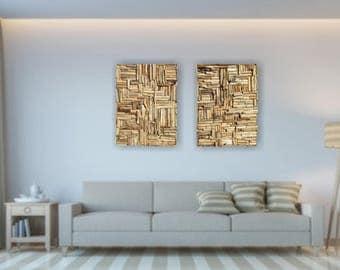 Large Mosaic Driftwood Wall Art, Beach Home Decor, Coastal Wall Art, Driftwood Wall Hanging Art, Driftwood Home Decor,