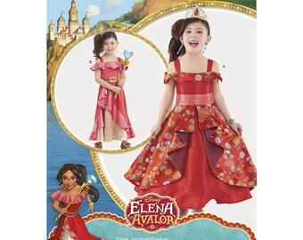 8479, Simplicity Disney Elena of Avalor, Costume for Child, Disney Princess, Gown, Disney Princess, Gown, Dress Up, Avalor''s Elena, Cosplay