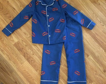 Trolley Pajamas Inspired Lounge Wear Set