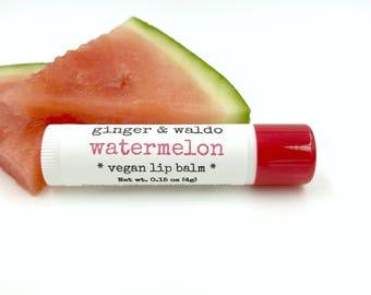 Watermelon Lip Balm - Watermelon - Vegan Lip Balm - Cruelty Free - True Love Collection