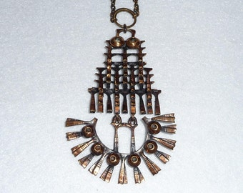 Pentti Sarpaneva (Finland). Pendant. Bronze. Vintage.