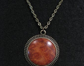 Amboyna Burl Necklace