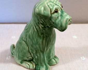 1950s Ceramic Dog by Price Brothers, England