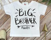 Big brother shirt, Big Brother Finally, Big Brother Announcement, Pregnancy Reveal, Baby Reveal, Pregnancy Announcement,Big Brother Surprise