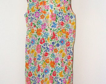 Vintage 1970s Floral Print Nightgown by Say-Lu in size Large